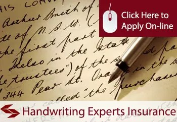 handwriting experts liability insurance