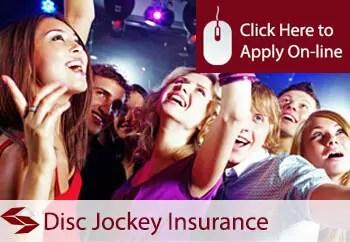 disc jockeys public liability insurance