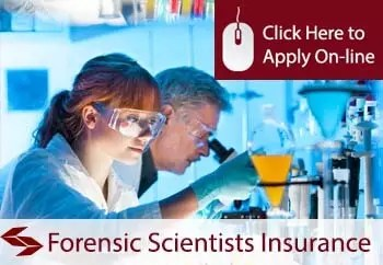 forensic scientists public liability insurance