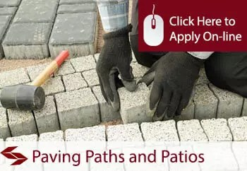 paving patio and path layers public liability insurance