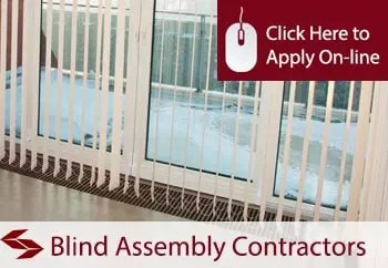 blind assembly contractors liability insurance