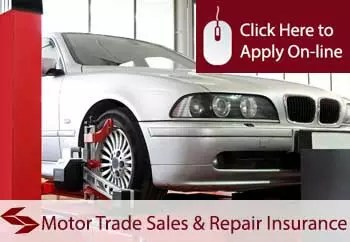 motor vehicle sales and repairers liability insurance