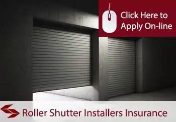 roller shutter door fitters public liability insurance
