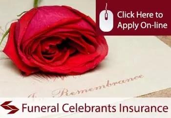 funeral celebrants public liability insurance