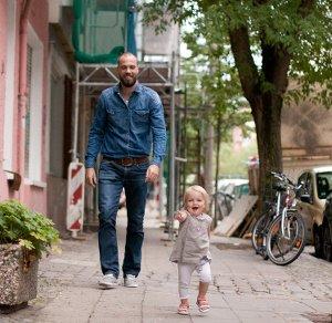 Lia und Papa