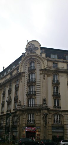 Residence. Jugendstil influences are seen everywhere in Vienna.