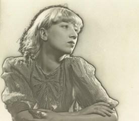 Artist Irene Zurkinden, 1932