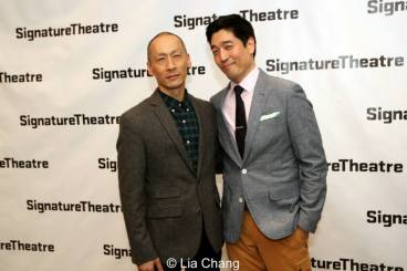 Francis Jue and Peter Kim. Photo by Lia Chang