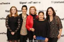 Phoebe Strole, Cole Horibe, Linda Lee Cadwell, Wren Lee and Shannon Lee. Photo by Lia Chang