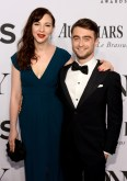 W YORK, NY - JUNE 08: Erin Darke and Daniel Radcliffe attend the 68th Annual Tony Awards at Radio City Music Hall on June 8, 2014 in New York City. (Photo by Dimitrios Kambouris/Getty Images for Tony Awards Productions)