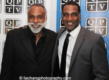 Chapman Roberts and Norm Lewis. Photo by Lia Chang