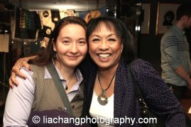 2014 Paul Robeson Citation Award recipient Baayork Lee with her mentee Casset Kivnick at the Actors Equity Association in New York on October 10, 2014. Photo by Lia Chang