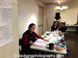 Winnie Lok in rehearsal for The World of Extreme Happiness at Manhattan Theatre Club in New York on January 27, 2015. Photo by Lia Chang