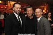 Dave Shih, James Saito and Francis Jue. Photo by Lia Chang