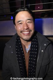 Randall Park at the #FreshOffTheBoat Viewing Party at The Circle NYC on February 4, 2015. Photo by Lia Chang