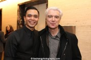 Jose Llana and David Byrne. Photo by Lia Chang