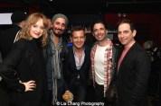 Erin Davie, Nehal Joshi, Stephen Bienskie, Chris Gattelli, Garth Kravits. Photo by Lia Chang