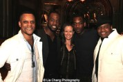 Kevin Mambo, Akron Watson, Kimberly Grigsby, Britton Smith and Juson Williams. Photo by Lia Chang