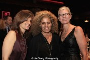 Tina Salerno, Suzanne Storer and Project Board Member Noël Mihalow at The 52nd Street Project's Fancy That Benefit at The Edison Ballroom in New York on May 4, 2015. Photo by Lia Chang