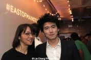 Filmmakers Ursula Liang and Jonathan Yi attend HBO's screening of East of Main Street: Taking the Lead at Root (Drive-In) in New York on May 6, 2015. Photo by Lia Chang