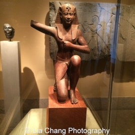 Ritual Royal Figure Dynasty 30 (380-343 B.C.) Wood on view at The Metropolitan Museum of Art. Photo by Lia Chang #emptymet