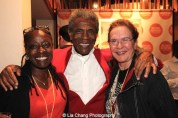 André De Shields with Mona Kreaden and guest at the opening night party of Victory Gardens Theater's 2015 IGNITION Festival of New Plays in Chicago on July 16, 2015. Photo by Lia Chang
