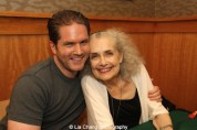 Actors Aaron Ramey and Mary Beth Peil attend 'The Visit' Broadway cast performance and CD signing at Barnes & Noble, 86th & Lexington on July 9, 2015 in New York City. Photo by Lia Chang