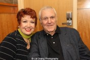 Actress Donna McKechnie and composer John Kander attend the 'The Visit' Broadway cast performance and CD signing at Barnes & Noble, 86th & Lexington on July 9, 2015 in New York City. Photo by Lia Chang