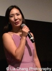 Shootout Coordinator, videographer and vocalist Youn Jung Kim at the 11th Annual 72 Hour Shootout World Premiere Film Screening at Village Cinema East in New York on July 25, 2015. Photo by Lia Chang
