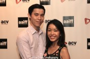 Jason and Michelle Tobin attend the #AAIFF2015 screening of Jasmine at Village East Cinema in New York on July 30, 2015. Photo by Lia Chang