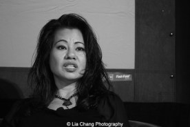 "Screening of ""The Killing Fields of Dr. Haing S. Ngor,"" International House, October 22, 2015, New York. Sophia Ngor, Dr. Ngor's niece and film subject. Photo by Lia Chang"