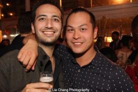 Matt Blank and Paul HeeSang Miller. Photo by Lia Chang