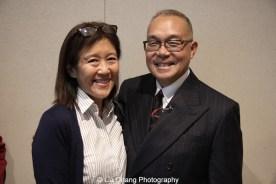 Kiyo Matsumoto and Arlan Huang. Photo by Lia Chang