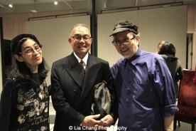 Nina Kuo, Arlan Huang and Lorin Roser. Photo by Lia Chang