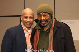 Ruben Santiago-Hudson and Anthony Chisholm Photo by Lia Chang