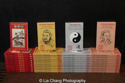 Pocket Chinese Almanac, The Pocket Confucius, The Pocket Tao and The Pocket Mencius- Compiled, Translated and Annotated by Joanna C Lee and Ken Smith. Photo by Lia Chang
