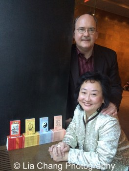 Ken Smith and Joanna C. Lee at the Museum of Chinese in America on January 30, 2016. Photo by Lia Chang