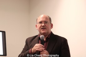 Ken Smith at the Museum of Chinese in America on January 30, 2016. Photo by Lia Chang