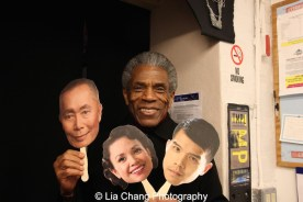 André De Shields at the Longacre Theatre in New York on February 13, 2016. Photo by Lia Chang