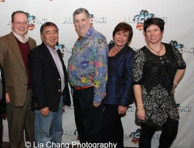 Mark Mugiishi, Elliott Masie, Wendy Gillespie and Cathy Masie. Photo by Lia Chang