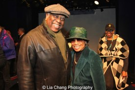 Woodie King, Jr. and Micki Grant. Photo by Lia Chang