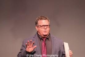 James Morgan (York Producing Artistic director). Photo by Lia Chang