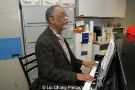 Musical Director William Foster McDaniel. Photo by Lia Chang