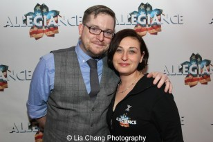 Brian M. Davis and Rachel Miller Davis. Photo by Lia Chang