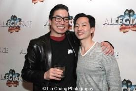 Greg Watanabe and Michael K. Lee_Photo by Lia Chang