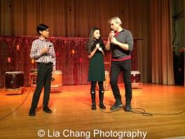 James Ignacio, Amaya Braganza and Alex Sanchez. Photo by Lia Chang