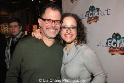 Joe Mowatt and Lynne Shankel. Photo by Lia Chang