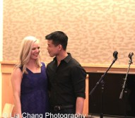 Katie Rose Clarke and Telly Leung celebrate the release of the ALLEGIANCE Original Cast recording at the Barnes and Noble CD Signing event in New York on Feb. 5, 2016. Photo by Lia Chang