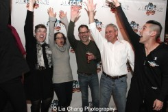 Laura Bergquist, Lynne Shankel, Joe Mowatt, Jeff Saver and Chris Kong. Photo by Lia Chang