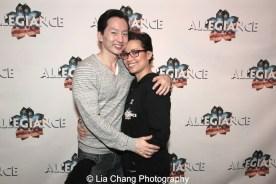 Michael K. Lee and Lea Salonga. Photo by Lia Chang